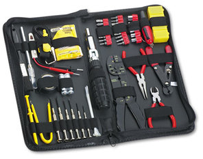 Fellowes® 55-Piece Computer Tool Kit,