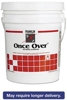 Picture of item 680-201 a Franklin Cleaning Technology® Once Over™ Floor Stripper,  Mint Scent, Liquid, 5 gal. Pail