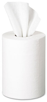 Picture of item 971-791 a GP SofPull® Premium 1-Ply Junior Capacity Centerpull Towels. 7.8 X 12 in. White. 2200 sheets.