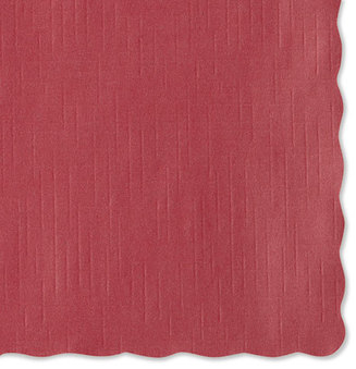 Picture of item 971-885 a Hoffmaster® Placemats,  9 1/2 x 13 1/2, Red, 1000/Carton