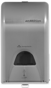 Picture of item GEP-52054 a GP enMotion® Brushed Stainless Automated Touchless Soap & Sanitizer Dispenser