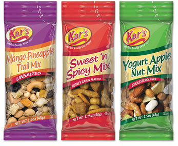Picture of item AVT-SN08361 a Kar's Trail Mix Variety Pack,  Assorted Flavors, 24/Box