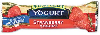 Picture of item AVT-SN13158 a Nature Valley Granola Bars,  Chewy Strawberry Yogurt, 1.2oz Bar, 16/Box