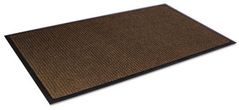 Picture of item CWN-SSR310DB a Super-Soaker™ Scraper/Wiper Floor Mat with Gripper Bottom. 34 X 119 in. Dark Brown.