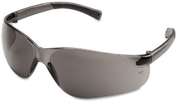 Picture of item CRW-BK112 a Crews® BearKat® Safety Glasses,  Wraparound, Gray Lens