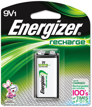 Picture of item EVE-NH22NBP a Energizer® NiMH Rechargeable Batteries,  9V