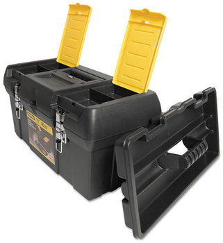Stanley® Series 2000 Toolbox With Tray,  Two Lid Compartments