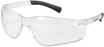 Picture of item CRW-BK110AF a Crews® BearKat® Safety Glasses,  Frost Frame, Clear Lens