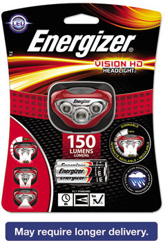 Energizer® LED Headlight,  3 AAA, Red