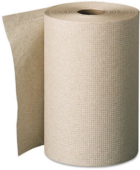 Picture of item 875-106 a GP Envision® Hardwound Roll Towels. 7.875 in X 350 ft. Brown. 12 rolls.