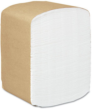 Scott® Full Fold Dispenser Napkins,  1-Ply, 13 x 12, White, 375/Pack, 16 Packs/Carton