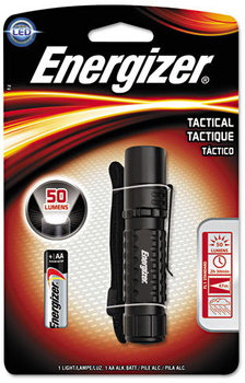 Energizer® Tactical Metal Light,  1 AA, Black