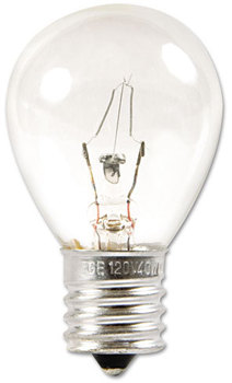 GE Incandescent Globe Light Bulb,  40 Watts