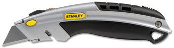 Stanley® InstantChange™ Retractable Knife,  Stainless Steel Retractable Blade, 3 Blades