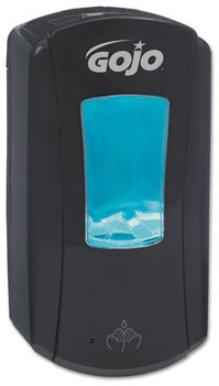 Picture of item 672-224 a GOJO® LTX-12™ Touch-Free Dispenser,  1200mL, Black/Black
