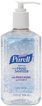 Picture of item 670-789 a PURELL® Advanced Instant Hand Sanitizer,  12oz Pump Bottle