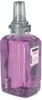 Picture of item 670-800 a GOJO® ADX-12, Antibacterial Foam Hand Wash,  Refill, Plum, 1250mL Refill, 3/Carton