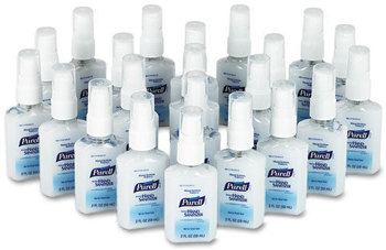Picture of item 670-165 a PURELL® Advanced Instant Hand Sanitizer with Derma Glycerin System™,  2oz Pump Bottle, 24/Carton