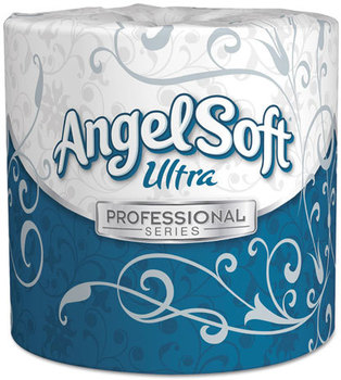 Georgia Pacific® Professional Angel Soft ps Ultra® Two-Ply Premium Bathroom Tissue,  White, 60 Rolls/Carton