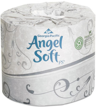 Georgia Pacific® Professional Angel Soft ps® Premium Bathroom Tissue,  450 Sheets/Roll, 40 Rolls/Carton