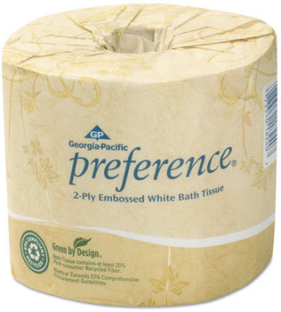 Picture of item 887-218 a Georgia Pacific® Professional preference® Bathroom Tissue,  550 Sheet/Roll, 80 Rolls/Carton