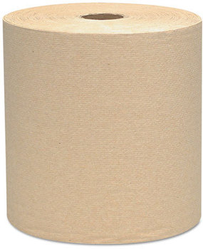 Scott® Hard Roll Towels. 8 in X 800 ft. Brown. 12 Rolls/Case.