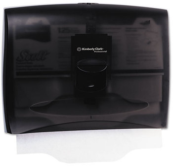 Kimberly-Clark Professional* In-Sight* Personal Seats Toilet Seat Cover Dispenser,  17 2/5 x 3 1/3 x 13, Smoke/Gray