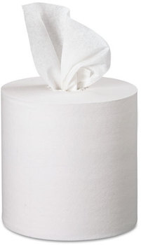 Picture of item 874-418 a Kleenex® Premiere* Center-Pull Towels,  15 x 8, 8 2/5 dia, 250/Roll, 4 Rolls/Carton