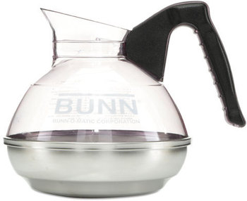 BUNN® 12-Cup Easy Pour Decanter for BUNN Coffee Makers,  Black Handle