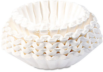 Picture of item BUN-BCF250 a BUNN® Commercial Coffee Filters,  Paper, 12-Cup Size
