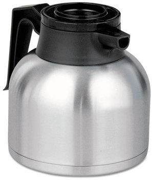 BUNN® Thermal Carafe,  Stainless Steel/Black