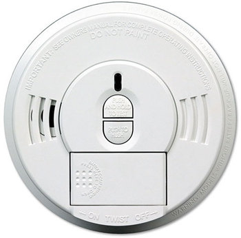 Picture of item KID-09769997 a Kidde Front Load Battery-Operated Smoke Alarm,  Hush Feature