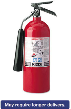 Picture of item KID-466180 a Kidde ProLine™ 5 CO2 Fire Extinguisher,  5lb, 5-B:C