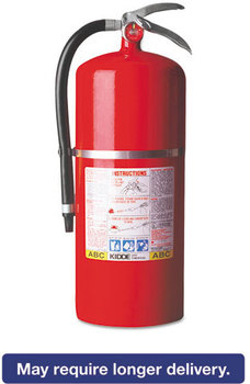 Picture of item KID-468003 a Kidde ProPlus™ 20 MP Dry-Chemical Fire Extinguisher,  20lb, 20-A, 120-B:C