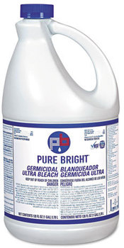 Picture of item 620-408 a Pure Bright® Liquid Bleach,  1gal Bottle, 6/Carton