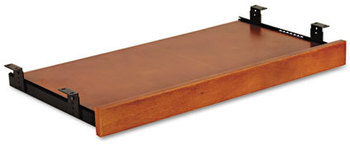 Picture of item ALE-RN312715CM a Alera® Verona Veneer Series Keyboard/Mouse Shelf,  28w x 14d, Cherry