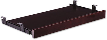 Picture of item ALE-RN312715MM a Alera® Verona Veneer Series Keyboard/Mouse Shelf,  28w x 14d, Mahogany