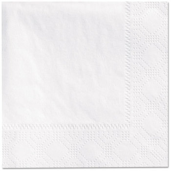 Hoffmaster® 2-Ply Embossed Beverage Napkins. 9 1/2 X 9 1/2 in. Ecru. 1000 count.