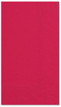 Hoffmaster® Regal Embossed 2-Ply Dinner Napkins. 15 X 17 in. Red. 1000 count.