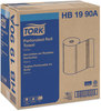 A Picture of product SCA-HB1990A Tork® Perforated Towel Roll,  2-Ply, White, 84 Sheets/Roll, 30 Rolls/Carton