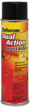 Enforcer® Dual Action Insect Killer,  For Flying/Crawling Insects, 17 oz Aerosol