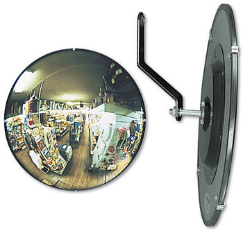 "Picture of item SEE-N26 a See All® 160° Convex Security Mirror,  26"" dia."