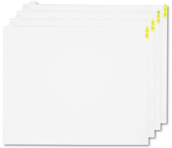 Picture of item CWN-WCRPLPDW a Crown Walk-N-Clean™ 60-Sheet Pad Refill,  30w x 24h, 4/Carton, White