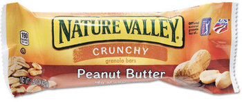 Picture of item AVT-SN3355 a Nature Valley Granola Bars,  Peanut Butter Cereal, 1.5oz Bar, 18/Box