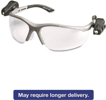 Picture of item MMM-114760000010 a 3M LightVision™ Protective Eyewear,  Clear AntiFog Lens, Gray Frame