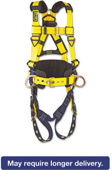 Picture of item DBS-1101656 a DBI-SALA® Delta™ No-Tangle™ Full-Body Harness,  Tongue Buckles, Side/Back D-Rings, X-Large, 420lb Capacity