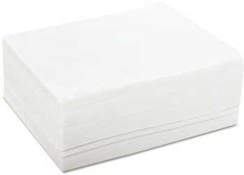 Chix® DuraWipe® General Purpose Towels,  12 x 13 1/2, White, 50 Wipers/Pack, 20 Packs/Carton