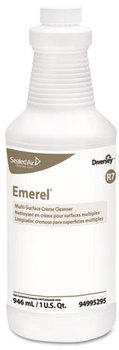 Picture of item P601-200 a Diversey™ Emerel® Multi-Surface Creme Cleanser,  Fresh Scent, 32oz Bottle, 12/Carton