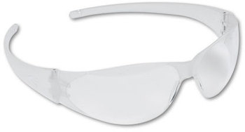 Picture of item CRW-CK100 a Crews® Checkmate® Safety Glasses,  CLR Polycarb Frm, Uncoated CLR Lens, 12/Box