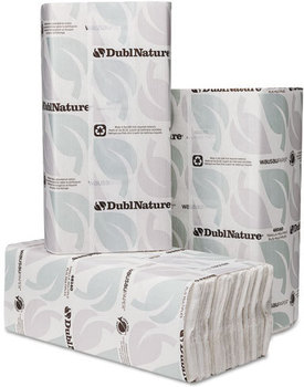Picture of item 869-505 a DublNature® C-Fold Towel 10 1/8 X 13 in. White. 2400 towels.